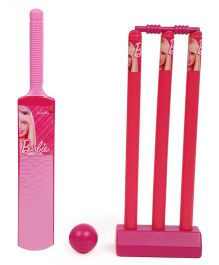 Barbie Cricket Set - Pink