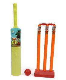 Chhota Bheem Cricket Set - Green Orange