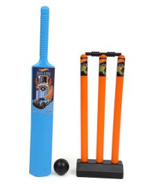 Hot Wheels Cricket Set - Blue Orange