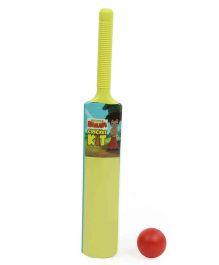 Chhota Bheem Bat And Ball Set - Green Red