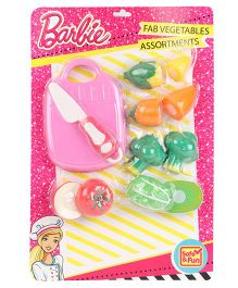 Barbie Mini Vegetable Sets - Multicolour