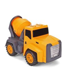 Playmater New Dumpster Toy Cement Mixer - Yellow