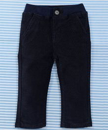 Bambini Kids Girls Pant - Dark Blue