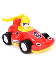Lovely French Racing Car - Red & Yellow