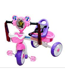 Luusa Bravo Tricycle - Pink Purple