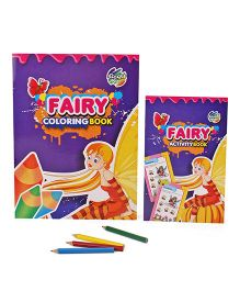 Chitra Fairy Coloring And Activity Book - English