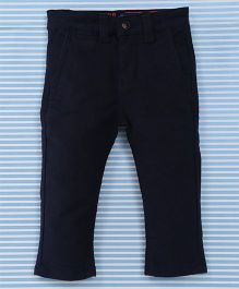Bambini Kids Stylish Pant - Dark Blue