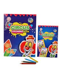 Chitra Circus Coloring And Activity Book - English
