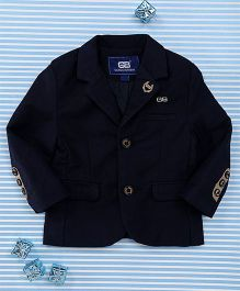 Bambini Kids Gentlemen Blazer - Dark Blue