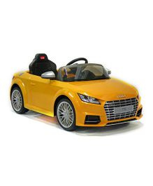 Like Toys Radio Control Battery Operated Audi TT Roadster - Yellow