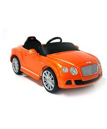 Like Toys Radio Control Battery Operated Bentley Continental GT Speed Convertible - Orange