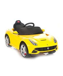 Like Toys Ferrari F12 Berlinetta Battery Operated Ride On - Yellow
