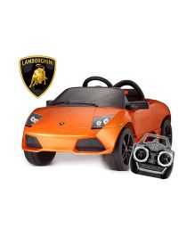 Like Toys Lamborghini  LP 640 4 Roadster Ride On Car - Orange
