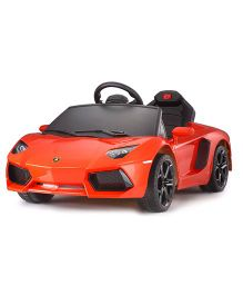Like Toys Lamborghini Avendator LP700 4 Ride On Car - Orange