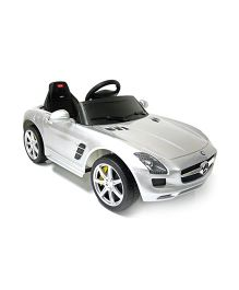 Like Toys Mercedes Benz SLS AMG Battery Operated Ride On - Silver