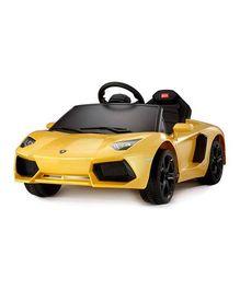 Like Toys Lamborghini Avendator LP700 4 Ride On Car - Yellow