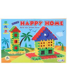 Fair Ind Jumbo Happy Home Blocks Set - 38 Pieces