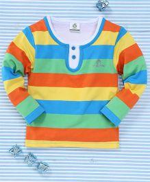 Water Melon Striped T-Shirt - Multicolour