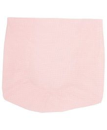 The Baby Atelier Flowers Print Fitted Crib Sheet - Pink