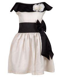 Shu Sam & Smith Charming Charlotte Dress - Black & White