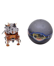 Happykids DIY Space Craft Apollo 11 Toy - Brown