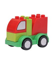 Happykids Pull & Push Construction Truck - Green Red