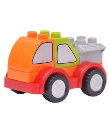 Happykids Pull & Push Construction Truck - Orange