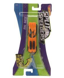 Hot Wheels Split Speeders Dual Racer Car Toy - Orange