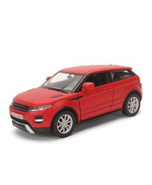 RMZ Die Cast Matte Range Rover Evoque Car - Red