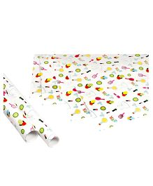 Papier Set Of 6 Spa Gift Wrappers - Multicolor