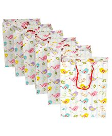 Papier Set Of 6 Tweety Birds Gift Bags - Multicolour
