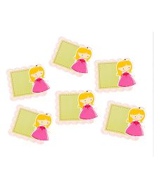 Papier Set Of 6 Doll Gift Tags - Green