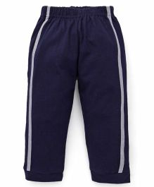 Babyhug Full Length Track Pants - Navy Blue
