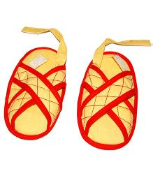 SnugOns Adorable Baby Sandals - Yellow