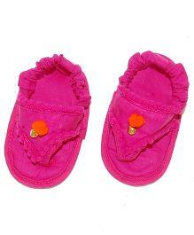 SnugOns Pretty Baby SlipOns - Fuchsia Pink