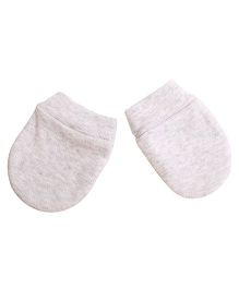 NeedyBee Newborn Baby Mittens - Grey