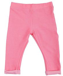 NeedyBee Full Length Jeggings - Pink