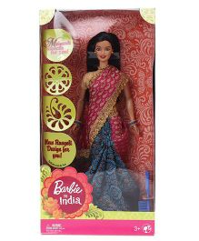 Barbie In India Doll Pink And Golden - Height 29 cm