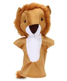 IR Hand Puppet Lion Brown - 30 cm