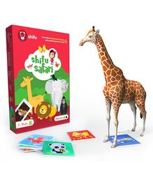Shifu Safari Mobile App Augmented Reality Card Game - Multi Color
