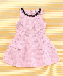 TBB Stylish Party Dress - Pink