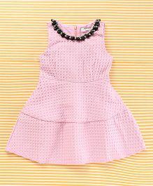 TBB Stylish Party Dress - Pink