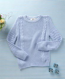 In.f Kids Casual Sweater - Sky Blue