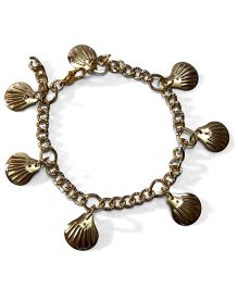 Sugarcart Sea Shell Bracelet - Golden
