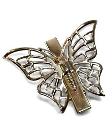 Sugarcart Hair Clip Butterfly Design - Golden