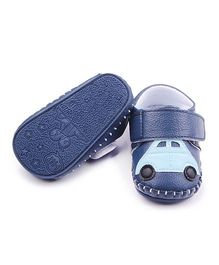 Alle Alle Car Design Booties - Blue