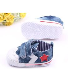Alle Alle Denim Shoes Style Booties - Blue