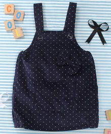 T.B.B Dot Print Fancy Top - Blue