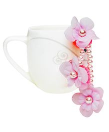 D'chica Gorgeous Flower Jewelry Paasa - Pink