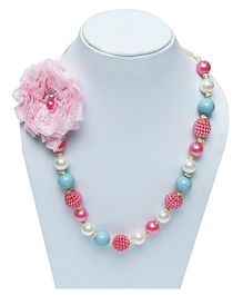 D'chica Ethnic Bead Necklace - Multicolor
